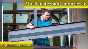 Alu Fensterbank Montieren Fensterbank Blech Einbauen So Gehts