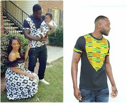 Kente Shirt Designs New African Print Men Kente T Shirt Design Africa Print