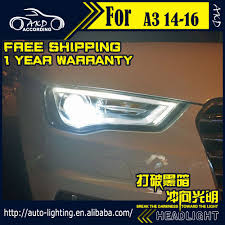Us 510 0 15 Off Akd Car Styling Head Lamp For Audi A3 Led Headlight 2013 2016 A3 Headlights Led Drl Light House Projector Lens Bi Xenon Beam In Car