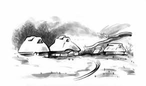 イラストcg 自然風景 雪の画像素材 イラスト素材なら