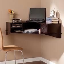 Wall desks home office Basement Harper Blvd Renfro Wall Mount Corner Desk Wall Mount Desks Home Office