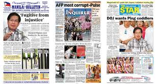 See more ideas about newspaper design, tabloid newspapers, newspaper. Front Pages 2011 Ping Lacson Returns Pinoy Index