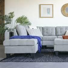 chocolate polyfiber 3pc sectional sofa