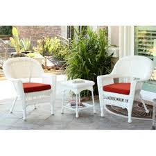 Rattan Wicker White Conversation Sets Youll Love Wayfair