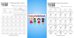 Kindergarten Worksheets - Free Printable Worksheets for Kindergarten ...