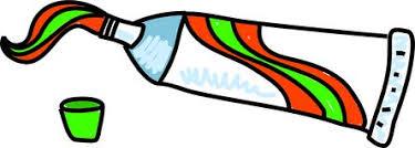 Resultado de imagen para crema dental   coloreada