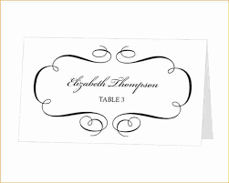 Place Cards Template For Word Place Cards Template Word Download Beautiful Template