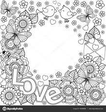 25 Idee Ik Hou Van Jou Kleurplaat Mandala Kleurplaat Voor Kinderen