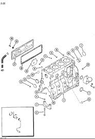 parts for case 550 long track crawler tractor mouse over diagram to magnify case 550 engine cylinder block 4 390 engine
