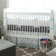 mist and gray owls crib bedding boy baby carousel designs baby bedroom furniture sets