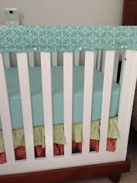 Crib Rail Cover Pattern Custom Decorating Design