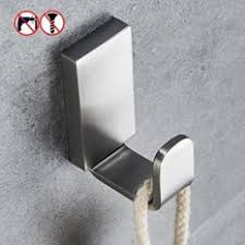 self adhesive coat hooks. Modren Self BESy Brass Clothes Hook Single Towel For Bathroom Kitchen Garage  Square Style Self Adhesive With  With Coat Hooks E