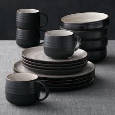 black dinnerware sets. Interesting Black To Black Dinnerware Sets