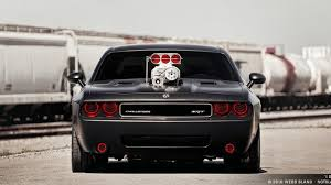 Dodge Challenger The Hopper Cars In The Background Provides A