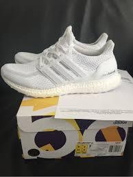 adidas 8 5. adidas ultra boost triple white size 8,5 eu42 - photo 4/6 8 5