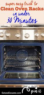 How to Clean Your Oven Racks in Under 30 Minutes - Oat&Sesame
