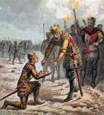 「From Crecy, Edward marched on to Calais, which surrendered to him in 1347.」の画像検索結果