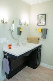 new orleans wheelchair accessible bathroom traditional with sah grant septic tank services black vanity