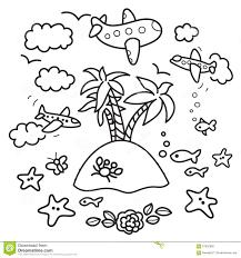Elementi Di Progettazione Di Vacanza Illustrazione Di Stock
