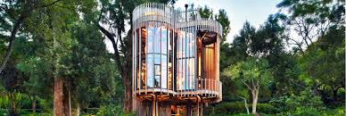 Tree House Architecture Incredible Luxury Tree House Is Hidden Away In A Cape Town Forest