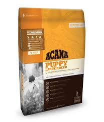 Acana Food Chart Puppy Large Breed Acana Pet Foods