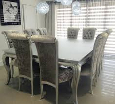 11 Piece Dining Room Set Bespoke Silver Or Gold Leaf Extra Large 25m X 17m 11 Piece