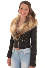 las detachable faux fur collar women 039 s