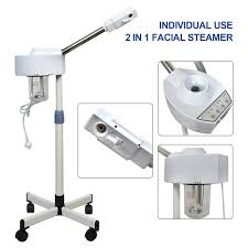 Facial Steamer With Light 2 In 1 Facial Steamer With 5x Magnifying Lamp For Salon Spa Beauty 2 In 1 Facial Steamer