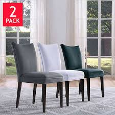 new gray dining chairs intended for light costco furniture new gray dining chairs for room features a tray ceiling accented with satin from