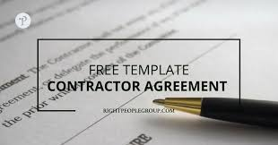 This freelance contract template will give you the basics for getting a robust freelance contract in place for your freelance business. Independent Contractor Agreement Template Download It Here