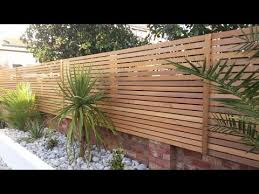 creative garden fencing wall design