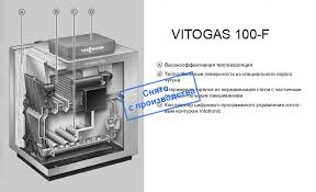 <b>Котел Viessmann Vitogas 100-F</b> 60 кВт (GS1D874) купить по ...