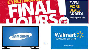 samsung tv at walmart. walmart cyber monday last minute deal blowout: $97.99 32-inch samsung led tv tv at
