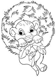 Kids N Funcom 48 Coloring Pages Of Christmas Disney Coloring Home