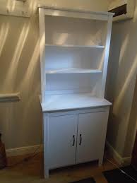 Small Picture MODERN IKEA WHITE KITCHEN DRESSER WALL UNIT DISPLAY UNIT WITH