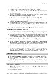 sample resume profile section example how write a good for your it