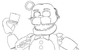 Toy Freddy Coloring Pages At Getdrawingscom Free For Personal Use