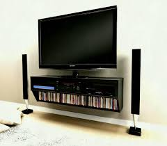 wall mount tv shelves furniture with shelf for cable box units best