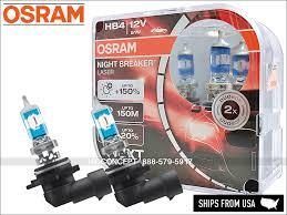 Details About New Hb4 9006 Osram Night Breaker Laser Nbl Halogen Headlight Bulbs 150 Dot