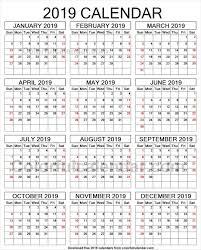 print a calendar 2019 2019 year calendar to print 2019 yearly calendars pinterest