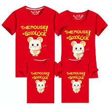 Big Sale New Year Mouse Family Clothing Family Matching