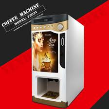 Premix Tea Powder For Vending Machine Adorable China For Catering Coin Operated New Instant Coffee Vending Machine