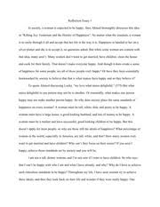 sample reflection essay the promise of happiness happiness has 2 pages sample reflection essay 6