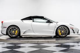 Nicholas charles cars are proud to offer this ferrari f430 4.3 f1 2dr in metallic silverstone grey. Used 2009 Ferrari F430 Scuderia Spider 16m For Sale Sold Marshall Goldman Beverly Hills Stock Wx16m