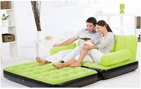original bestway inflatable air sofa double seats foot rest pumper