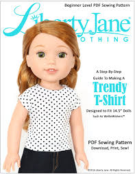 Free Printable Doll Clothes Patterns For 18 Inch Dolls Custom Inspiration