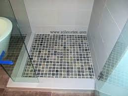 interior how to build a shower pan install a tile floor homeadvisor within shower pan