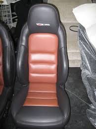 z06 c6 black with sienna oem seats