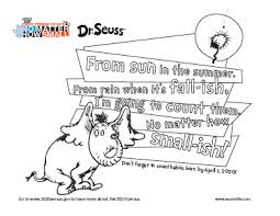 Free printable and online coloring pages for kids for classroom & personal use. Dr Seuss Coloring Pages
