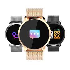 Newwear Q8 <b>Smart Watch</b> OLED <b>Color</b> Screen Smart Electronics ...